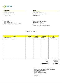 elementi računa (faktura) po zakonu o računovodstvu