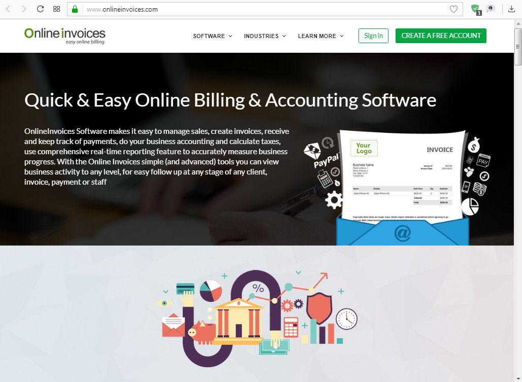 Invoicing Software Online Solutions For Small Business - Online invoice wef